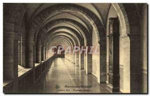 Old Postcard Maredsous Abbey Cloister East First Floor