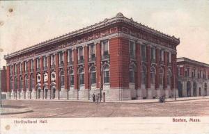 Massachusetts Boston Horticultural Hall