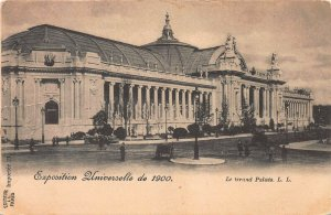 The Grand Palace, Universal Exposition of 1900, Paris, France, Unused Postcard