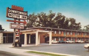 Exterior,  Downtowner Motor Inn,  Florence,   South Carolina,   40-60s