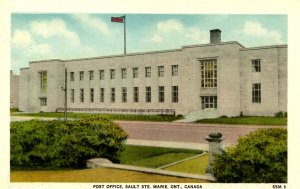 Canada - Ontario, Sault Ste Marie. Post Office