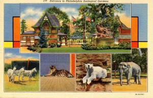 PA - Philadelphia. Philadelphia Zoo, Multi-View