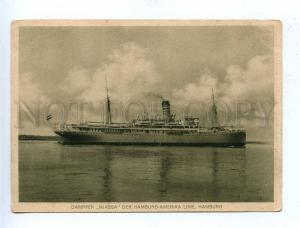 190918 HAMBURG-AMERIKA LINIE ship NJASSA Vintage postcard