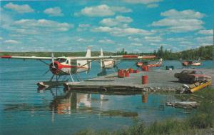 Airplane close-up , Air Charter Base , Old Town , Yellowknife , N.W.T. , Ca...