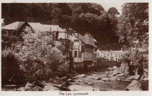 RP: LYNMOUTH, Devon, England, 1930-40s ; The Lyn