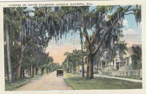 DAYTONA , Florida , 1910s ; South Palmetto Avenue