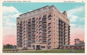 Florida Tampa The Bay Shore Royal Hotel