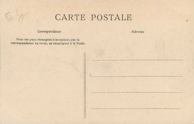 Postcard Italy ROME stereographic image Port ancient aux Tibre