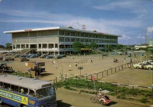 indonesia, JAVA DJAKARTA JAKARTA, Pasar Senen, Bus Rickshaw Car (1970s)