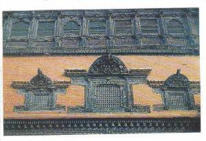 Palace Window , Bhadgaon , NEPAL , 40-60s