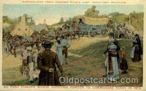 Powder Wagon to Commodore Perry, 1813 American History Unused light internal ...
