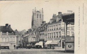 BERGUES, France, 1900-10s ; Place de la Republique