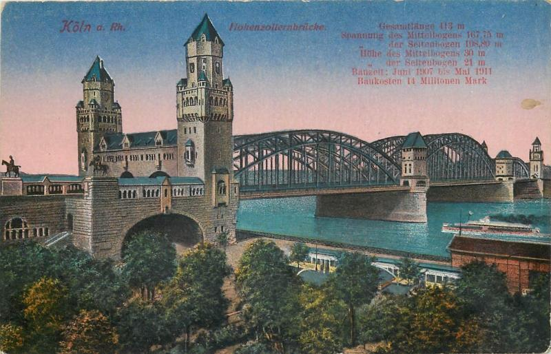 Koeln Koln bridge Germany