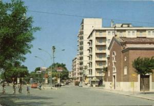 italy, SAN SEVERO, Chiesa delle Grazie, Street (1979)