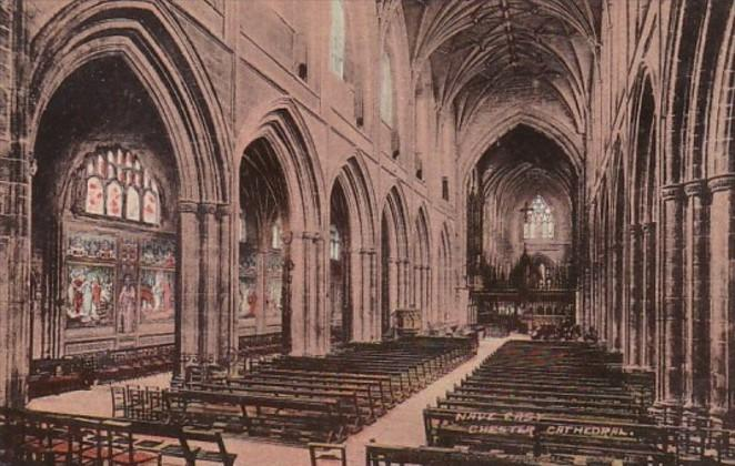 England Chester Cathedral Nave East
