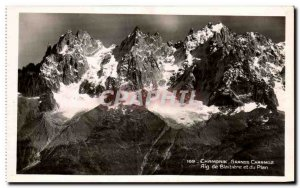 Old Postcard Chamonix Great Charmoz Blaitière Needle And The Map
