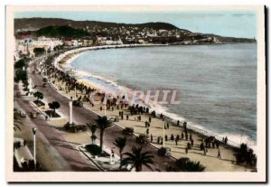 Modern Postcard Nice view of & # 39ensemble and the Promenade des Anglais