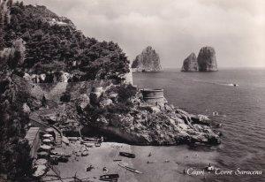 RP; CAPRI, Campania, Italy, 1930-1940s; Torre Saracena