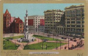 Scenic view, Lafayette Square, Buffalo, New York, 00-10s