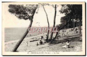 Postcard Old Ronce les Bains Ch Inf The Cepe