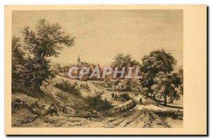 CARTE Post Old Old Lyonnais Chateau de Jarnioux Rhone
