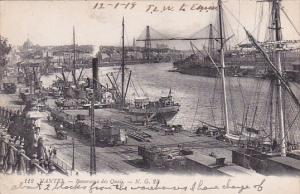 NANTES (Loire Atlantique), France, PU-1918 - Panorama des Quais