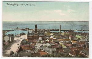 Panorama Helsingborg Sweden 1910c postcard