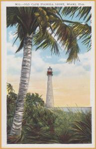 Miami, Florida - Old Cape Florida Light