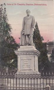 South Africa Pietermaritzburg Statue Of Theophilus Shepstone