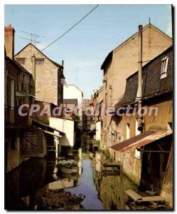 Modern Postcard Montargis street On the water