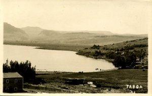 Israel - Tabga (Tabgha) on the Shore of the Sea of Galilee   *RPPC