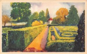 The Flower Garden at Mount Vernon Postcard