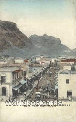 Aden Republic of Yemen Main Street Aden Main Street
