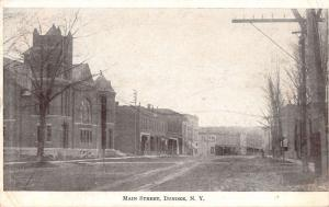 Dundee New York Main Street Scene Historic Bldgs Antique Postcard K29590