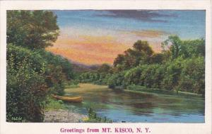New York Greetings From Mount Kisco 1939