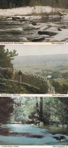 West Flamboro Carlisle Rattlesnake Point Milton 3x Spectator Canadian Postcard s