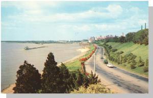 Classic Memphis, Tennessee/TN Postcard, Riverside Drive