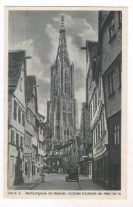 Walfischgasse mit Munster, Hochster Kirchturm Der Welt 161m, South Africa, 19...