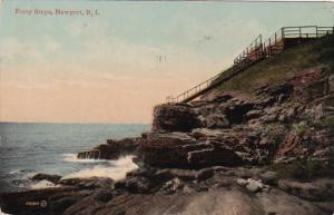 Rhode Island Newport Forty Steps