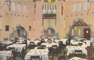 Interior of Rupert Gray Restaurant on East Avenue - Rochester, New York - Linen