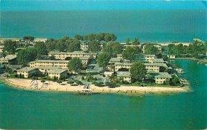 Becker Clearwater Beach Florida Yacht Basin Apartments 1965 Postcard 20-8600