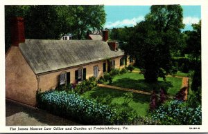 Virginia Fredericksburg The James Monroe Law Office and Gardens Curteich
