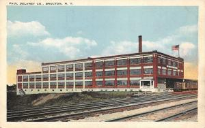 Brocton New York~Paul Delaney Co~American Maid Pure Fruit Jelly Factory~1920s PC