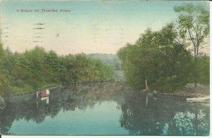 A Scene On Taunton River