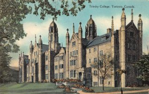 Trinity College, Toronto, Ontario, Canada,  Early Postcard, Used in 1932