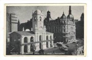 Buenos Aires,, Argentina, 20-40s  El Cabildo y Muncipalidad