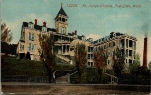 Bellingham Washington~2nd Story Round Balcony~St Joseph Hospital~Dormers~c1910