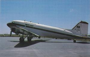 Northway Surveys DC3 CF-YED, Ex United States Navy C117, Shown at Companys Ra...