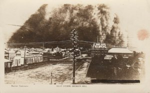 RP; Dust Storm , BROKEN HILL , Australia , 1900-10s