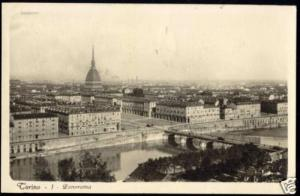 italy, TORINO, Panorama (1930) Traldi RPPC